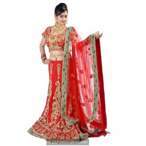 Designer Bridal Lehenga on rent